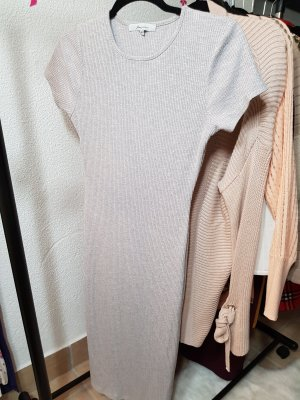 Ann Christine Midi-jurk lichtgrijs