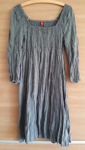 edc Robe empire argenté-gris coton
