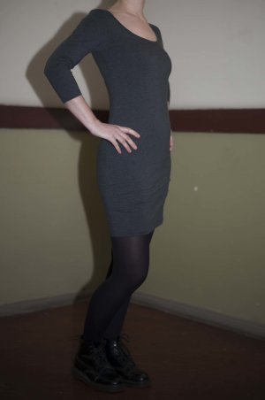 Ann Christine Stretch Dress anthracite