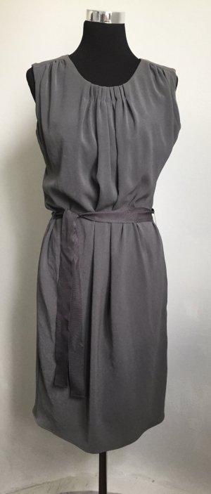 Graues Kleid  mit Unterrock von Rene Lezard NEU !