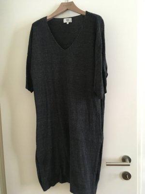 Graues Kleid von der Marke noa noa aus Baumwolle für den Winter, Größe large. Nur 1x getragen