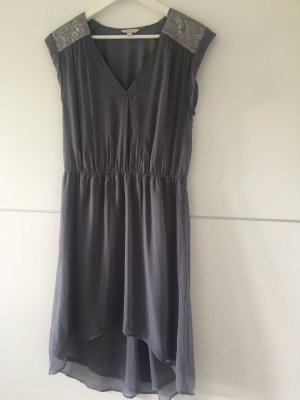 Esprit High Low Dress grey