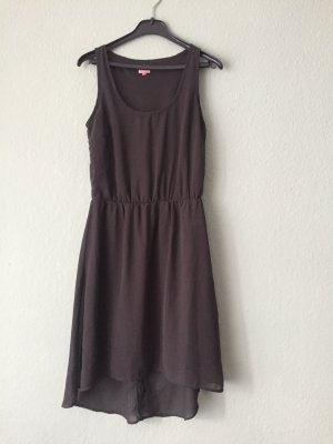 Only High Low Dress grey