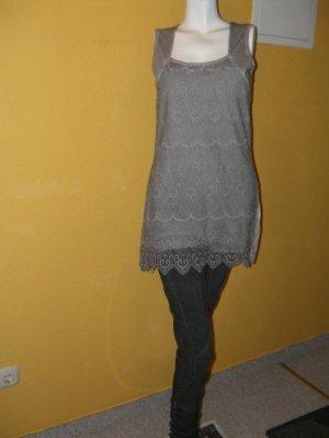 Graues Kleid von Tredy Gr. 36 Neu mit Ett, Spitze romantisch