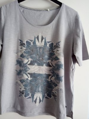 Graues Kurzarm-Shirt von Cecil Gr.L