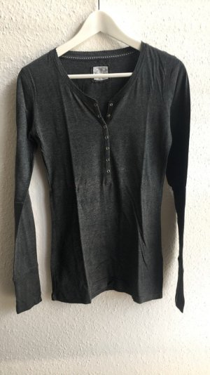 Graues Langarmshirt von H&M