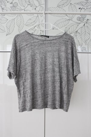 graues Mango T-Shirt