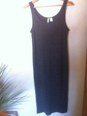 Graues Maxi-Kleid H&M Größe M