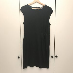 Graues midi Kleid mit RV
