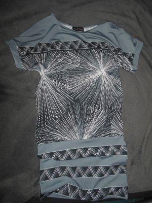 Melrose One Shoulder Dress grey-light grey