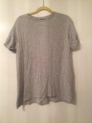 Bershka T-shirt grijs