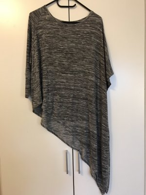 Bershka Top lungo grigio-grigio chiaro