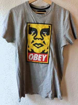 graues Obey T-Shirt