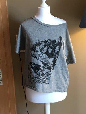 Graues Oversize Shirt in Größe 34
