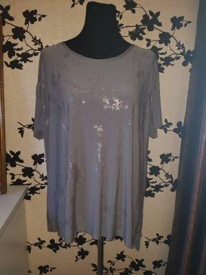 Graues Oversize Shirt - T-Shirt - Gr. 44 - Laura Scott