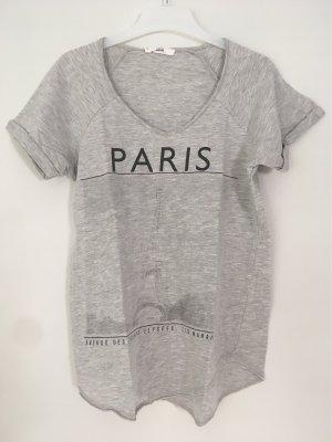"graues ""Paris"" T-shirt"
