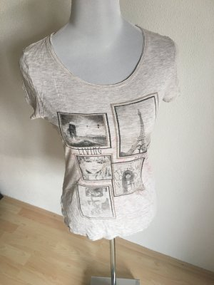 Graues Print Shirt 36/38