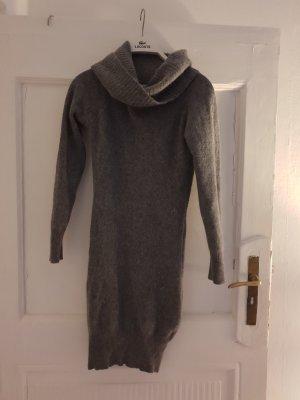 Amisu Sweaterjurk grijs-donkergrijs