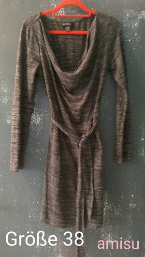 Graues Pulloverkleid von amisu