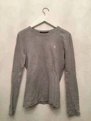 Graues Ralph Lauren Langarm Shirt ❤ kuschelig weich ❤