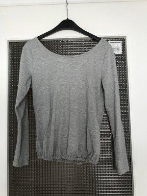 Graues rückenfreies Shirt Gr.XS