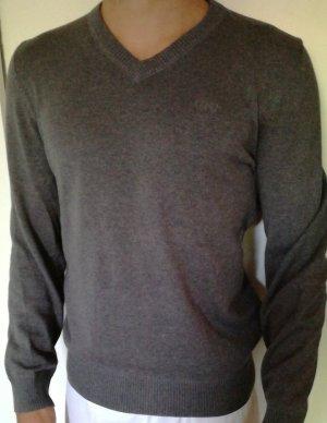 Anastacia by s.Oliver Jersey con cuello de pico color plata-gris