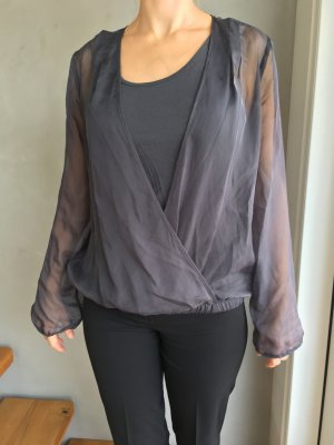 s.Oliver Blouse Top dark grey