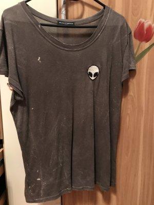Brandy & Melville Oversized shirt veelkleurig