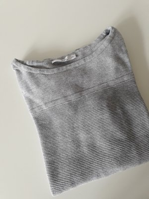 edc by Esprit Knitted Jumper light grey-grey