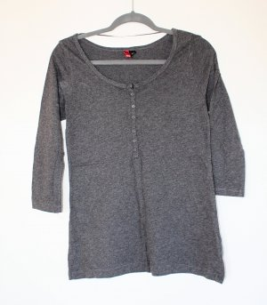 graues Shirt H&M
