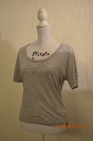 graues Shirt (meliert)