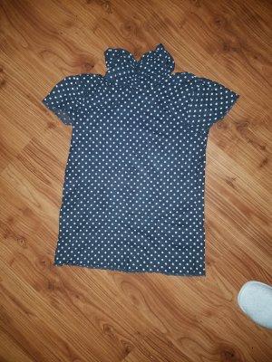 Camisa de cuello de tortuga gris
