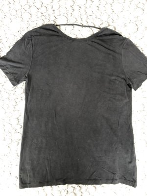 American Apparel Camicia oversize grigio scuro-antracite