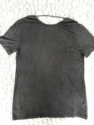 American Apparel Camisa holgada gris oscuro-gris antracita