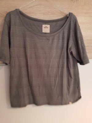 Graues Shirt von Hollister