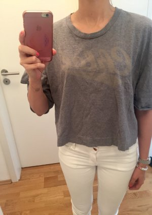 Graues Shirt von See by Chloe