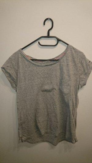 Graues Shirt von Tommy Hiliger Größe L