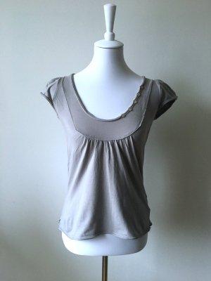 Anne L. T-shirt gris clair-gris