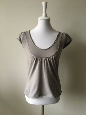 Anne L. T-shirt lichtgrijs-grijs
