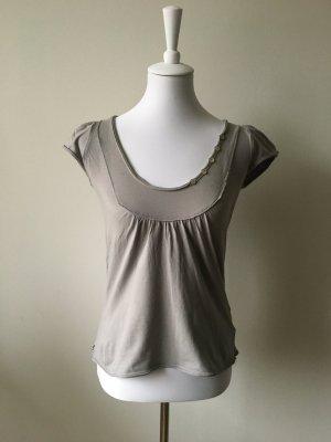 Anne L. T-Shirt light grey-grey