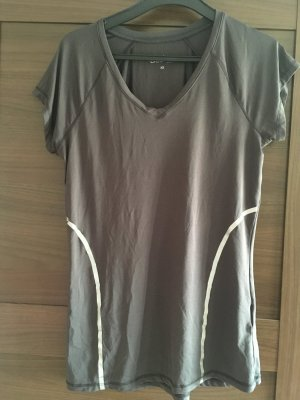active Sports Shirt silver-colored