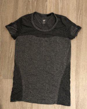 H&M Sportshirt grijs-donkergrijs