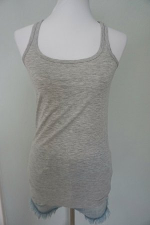Graues Sporttop in Gr. M