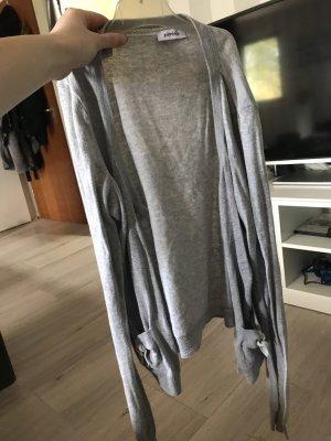 Pimkie Chaqueta estilo camisa gris claro-color plata