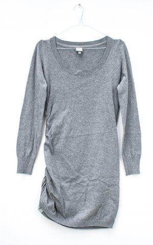 Bench Abito di maglia grigio chiaro Cotone