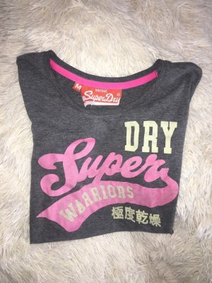 Graues superdry T-Shirt in M