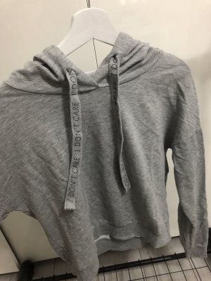 Colins Hooded Sweatshirt grey-black