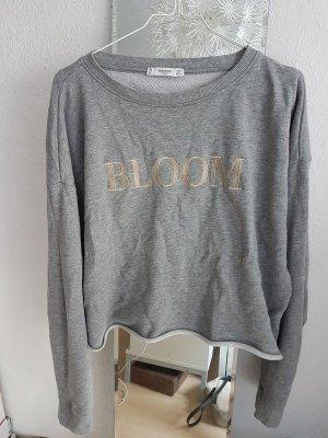 Graues Sweatshirt Bloom von Mango Sport