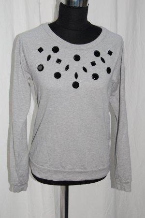 graues Sweatshirt, Größe M