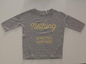 Graues Sweatshirt in der Größe S von ZARA. Nur zweimal getragen.